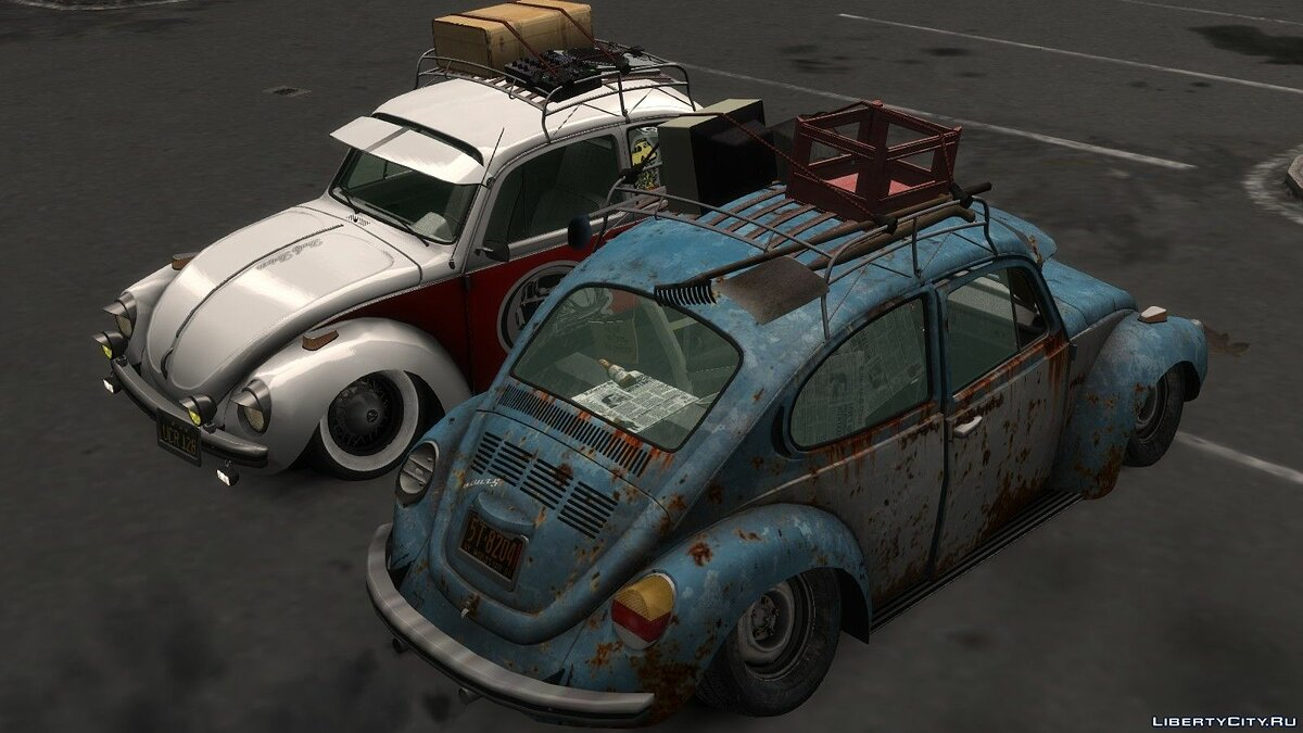 Volkswagen Beetle (2 versions) [BETA] для GTA 4 - скриншот #3