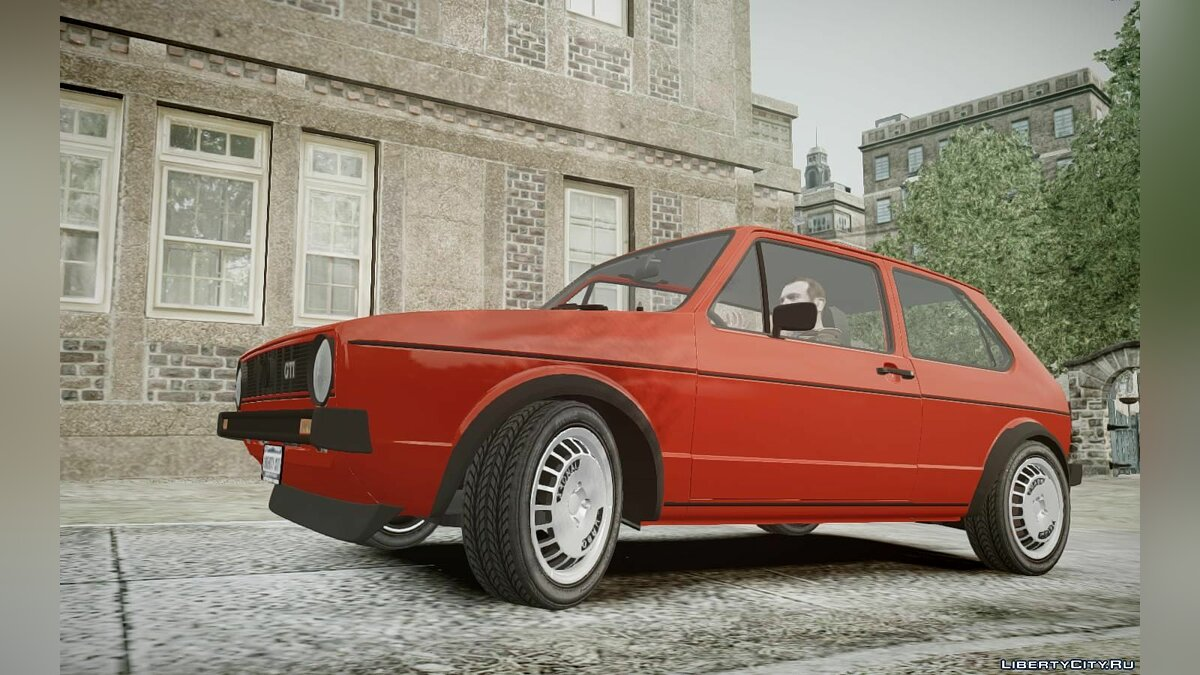 Volkswagen Golf MK1 GTI - Updated Badges для GTA 4