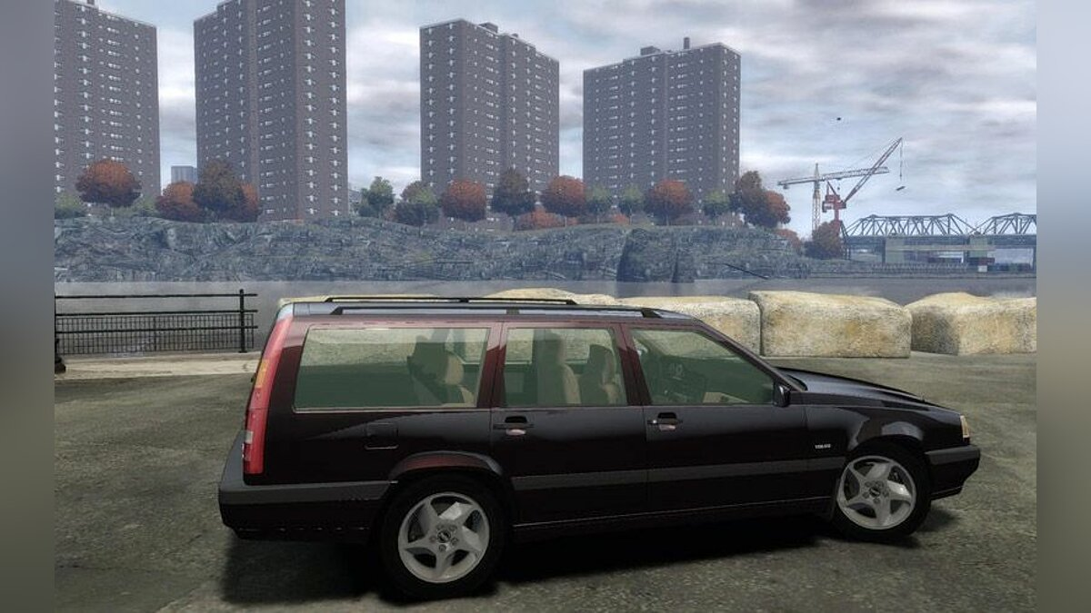 Volvo 850 TurboR 1996 для GTA 4