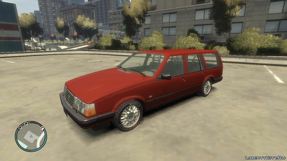 Машина Volvo Volvo 945 Estate для GTA 4