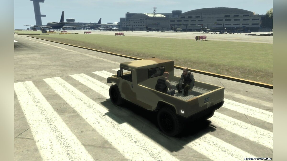 Военная машина GTA 5 cutted Millitary Patriot replica для GTA 4