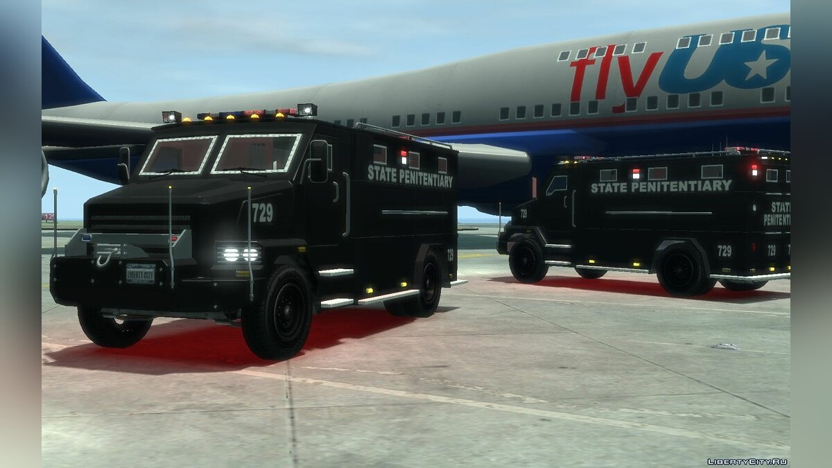 Военная машина International 4000-Series SWAT Van для GTA 4
