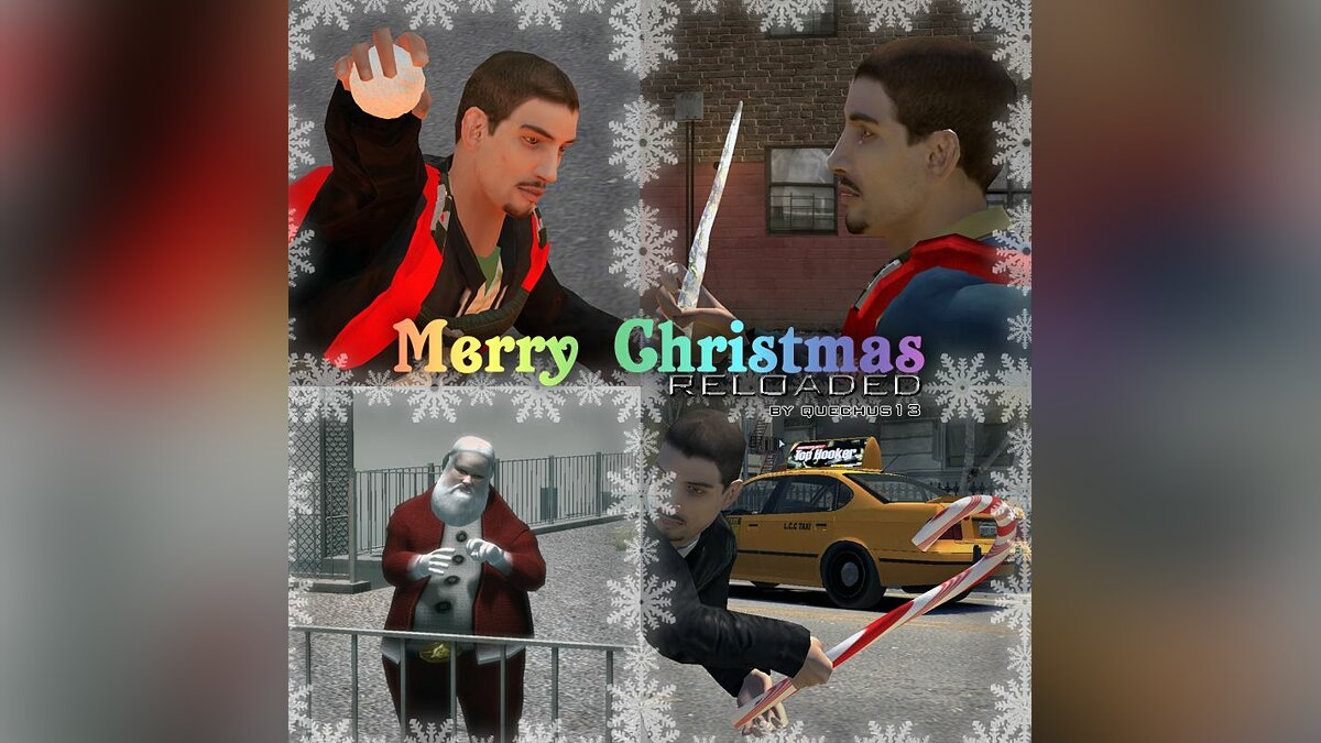 Merry Christmas Reloaded для GTA 4