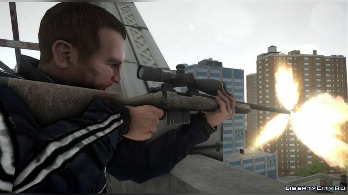 Оружейный мод Remington 700 для GTA 4