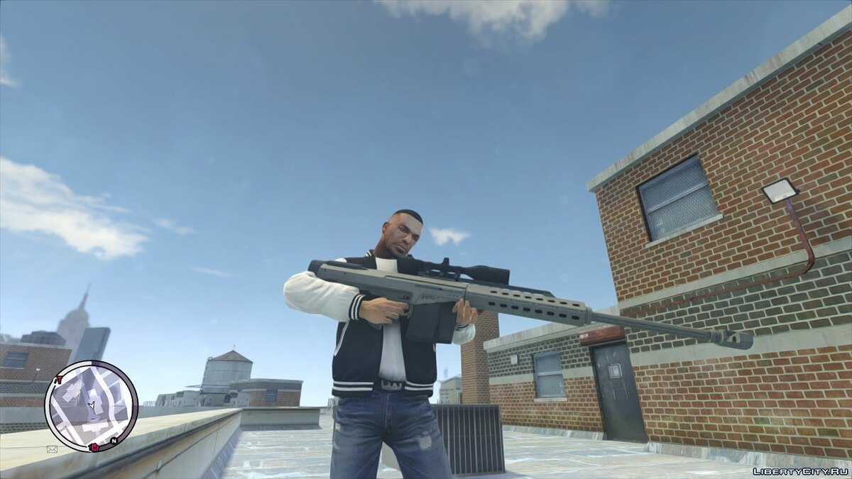HQ GTAV Weapon Pack V2 для GTA 4 - скриншот #6
