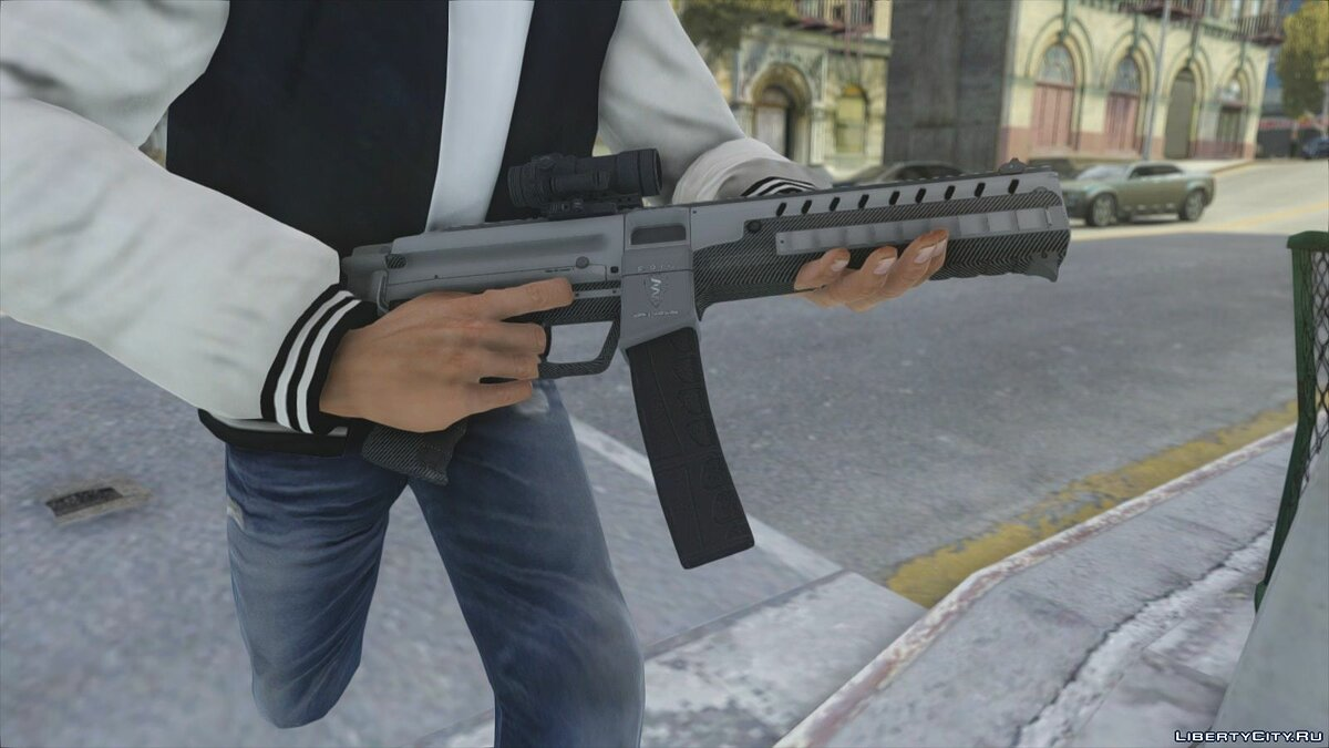 HQ GTAV Weapon Pack V2 для GTA 4 - скриншот #7