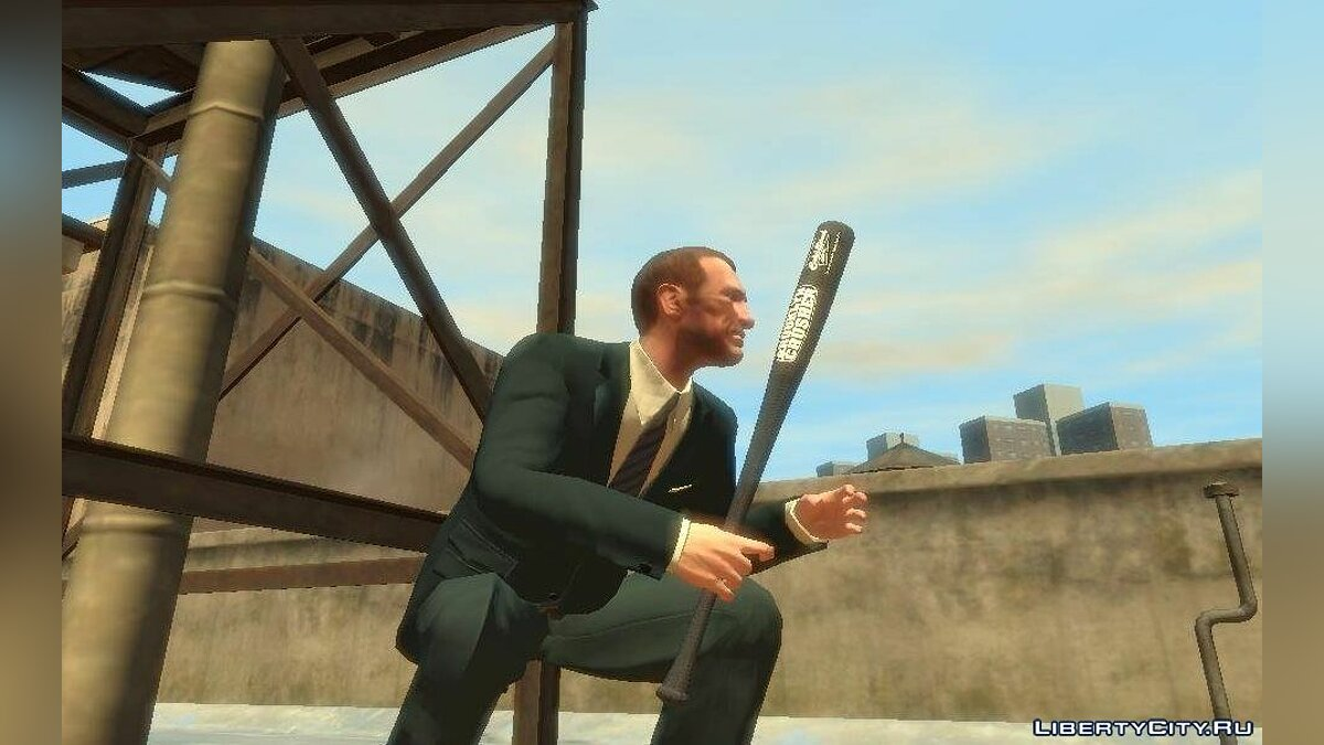 Оружейный мод Cold Steel Brooklyn Crusher BaseBall Bat для GTA 4