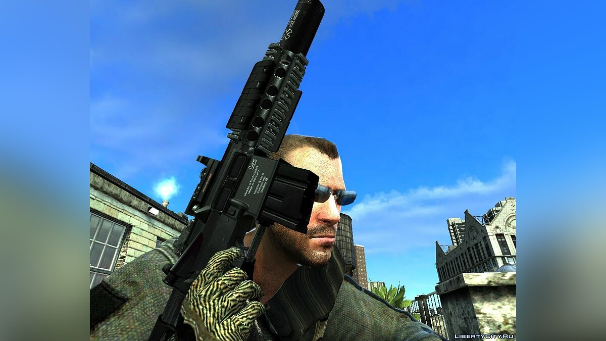 Navy SEAL Colt M4A1 / HK416 Updated 2 для GTA 4