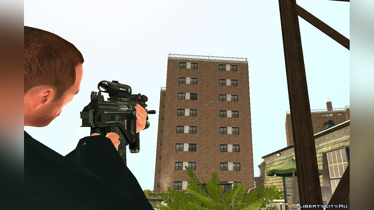 Оружейный мод Gailil Tactical для GTA 4