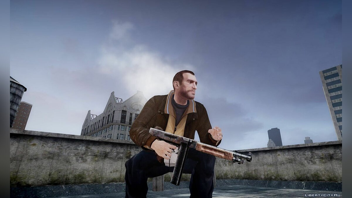 RE4 Chicago Typewriter-Leon No Stock Custom для GTA 4