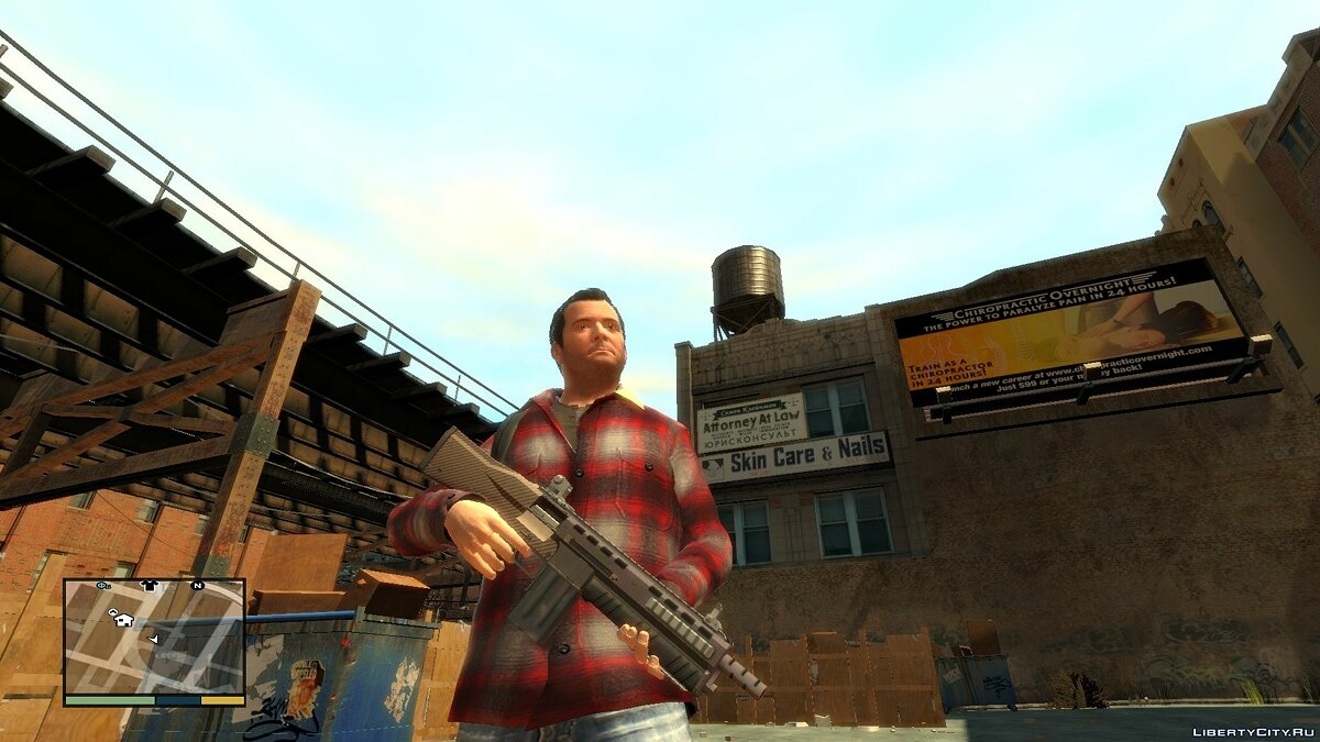 GTA V Assault Shotgun для GTA 4