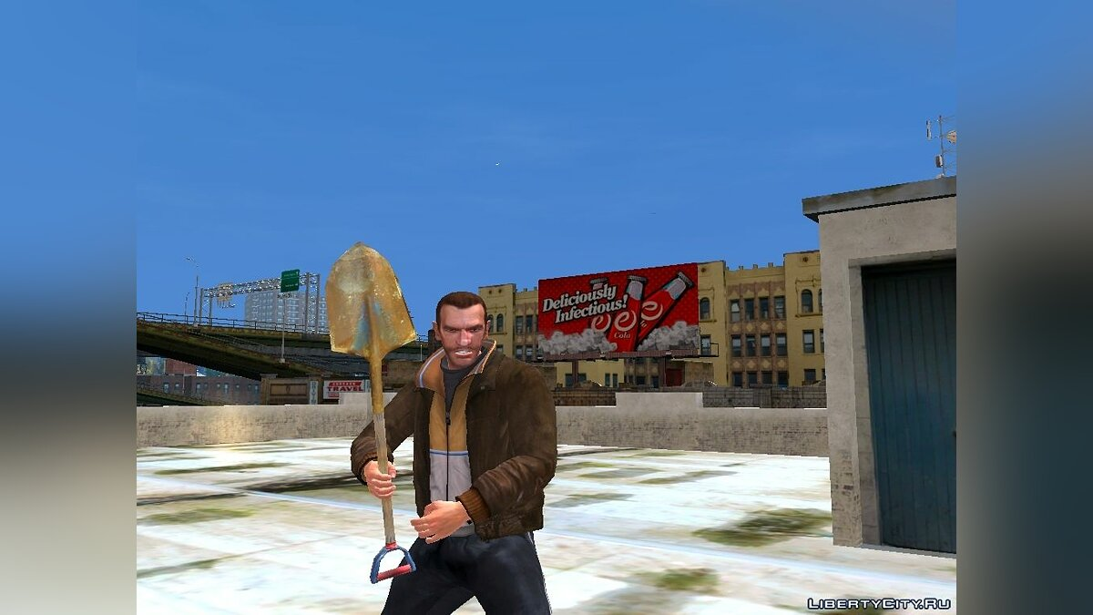 Оружейный мод Postal 2 Weapon Pack для GTA 4