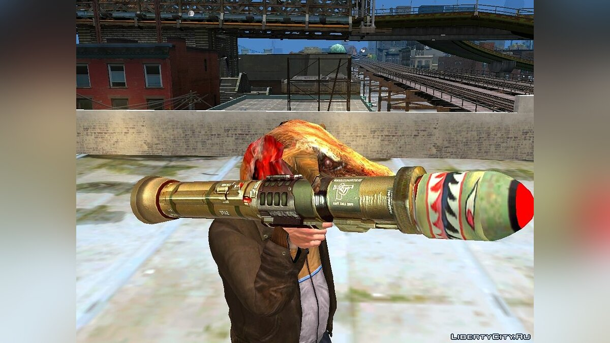 Postal 2 Weapon Pack для GTA 4 - скриншот #6