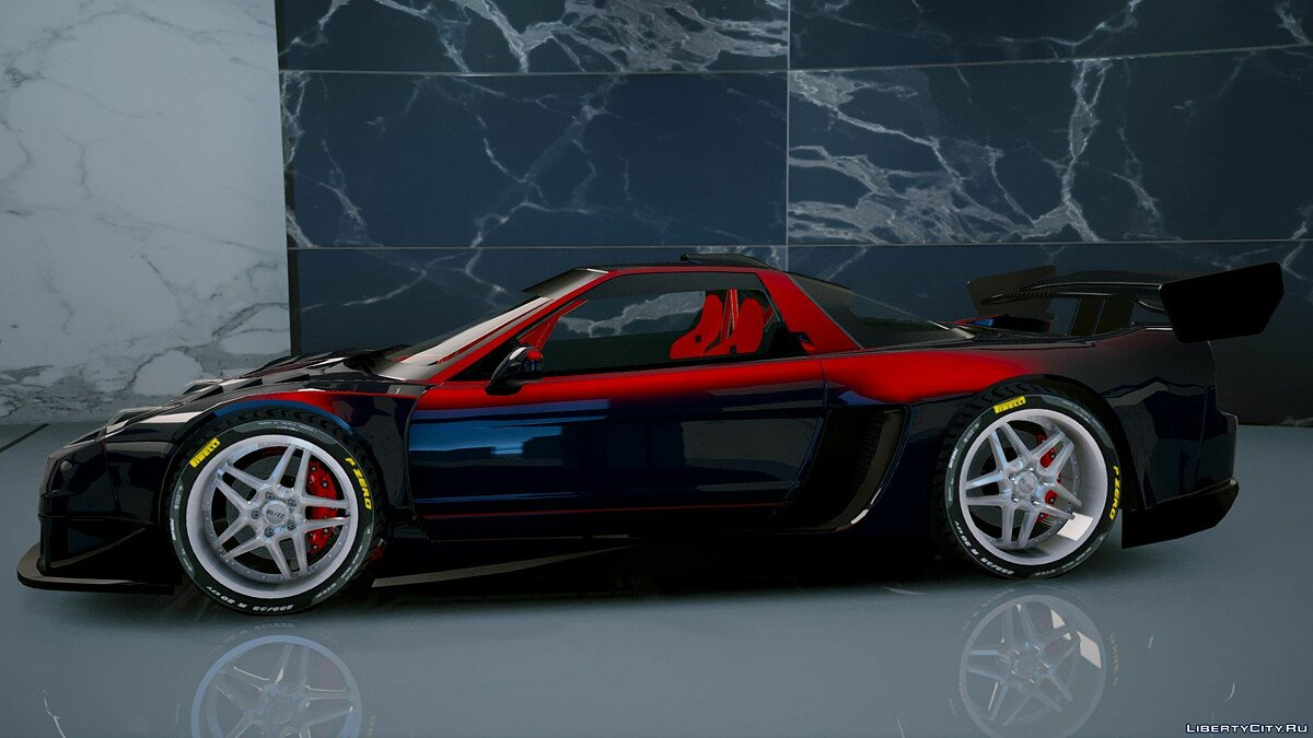 Машина Acura Acura NSX 2002 [Add-On] 1.1 для GTA 5
