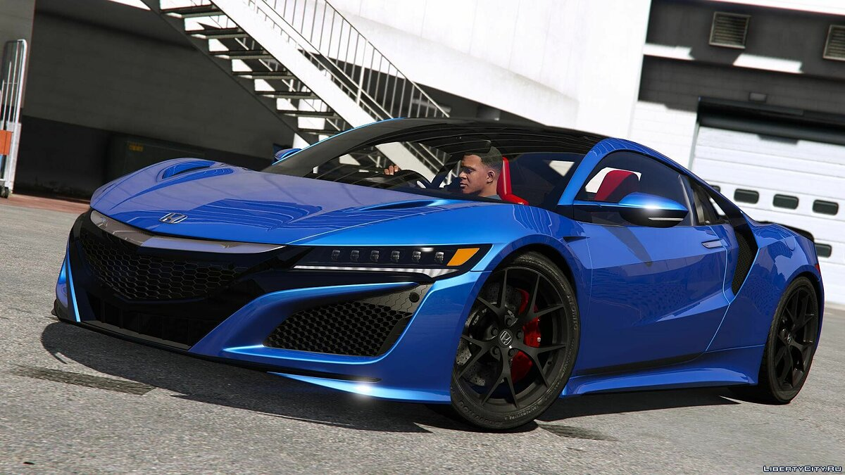 2016 Honda NSX (NC1) [Add-On] 1.5 для GTA 5 - скриншот #5