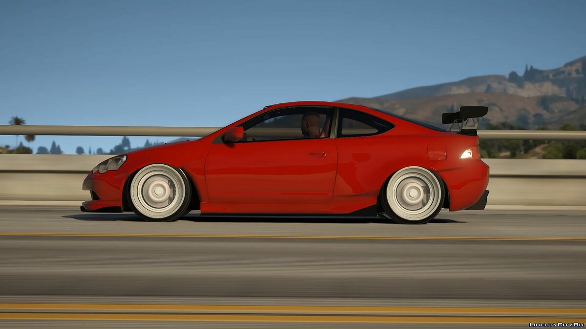 Машина Acura Acura RSX Widebody [Replace] 0.1 для GTA 5