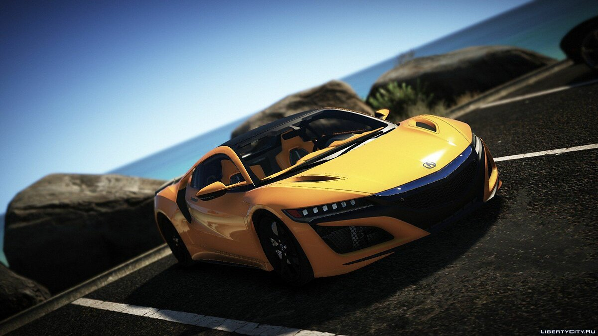 Машина Acura Acura Nsx 2016 [Add On] [Replace] 1.0 для GTA 5