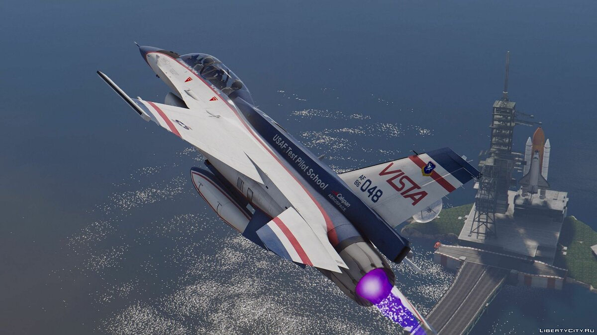 NF-16D Vista with 3D Thrust Vectoring Nozzle [Add-On] для GTA 5