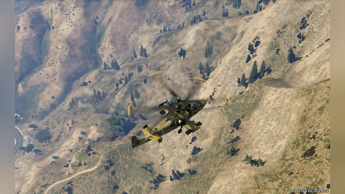 Kamov Ka-52 Alligator [Add-on] для GTA 5