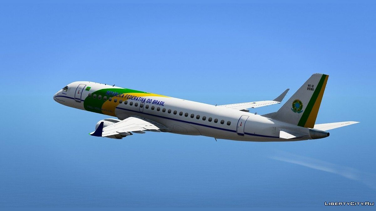 Embraer 1000 VC-2 [Replace] для GTA 5