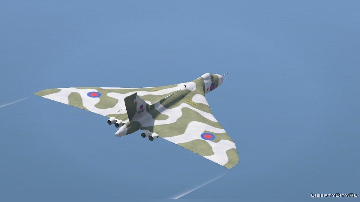 Avro Vulcan RAF [Replace] 1.0 для GTA 5