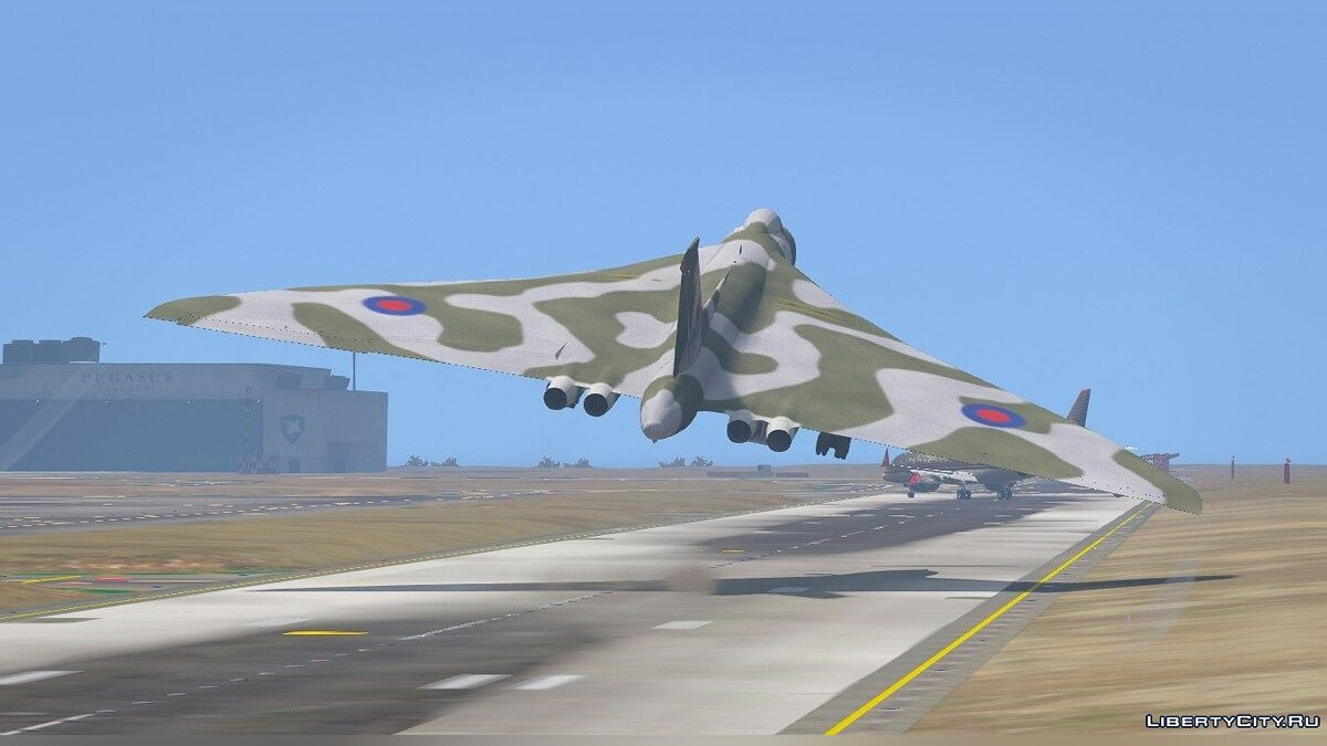 Avro Vulcan RAF [Replace] 1.0 для GTA 5 - скриншот #2