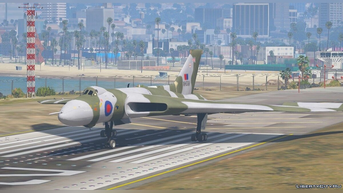 Avro Vulcan RAF [Replace] 1.0 для GTA 5 - скриншот #3