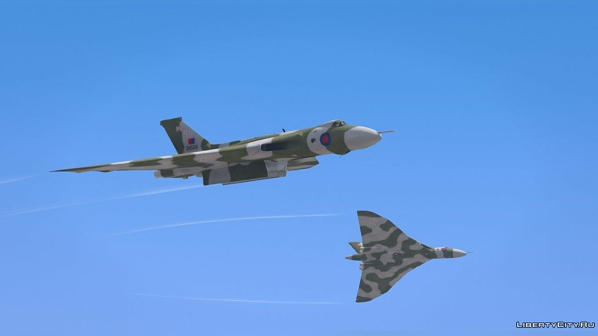 Avro Vulcan RAF [Replace] 1.0 для GTA 5 - скриншот #5