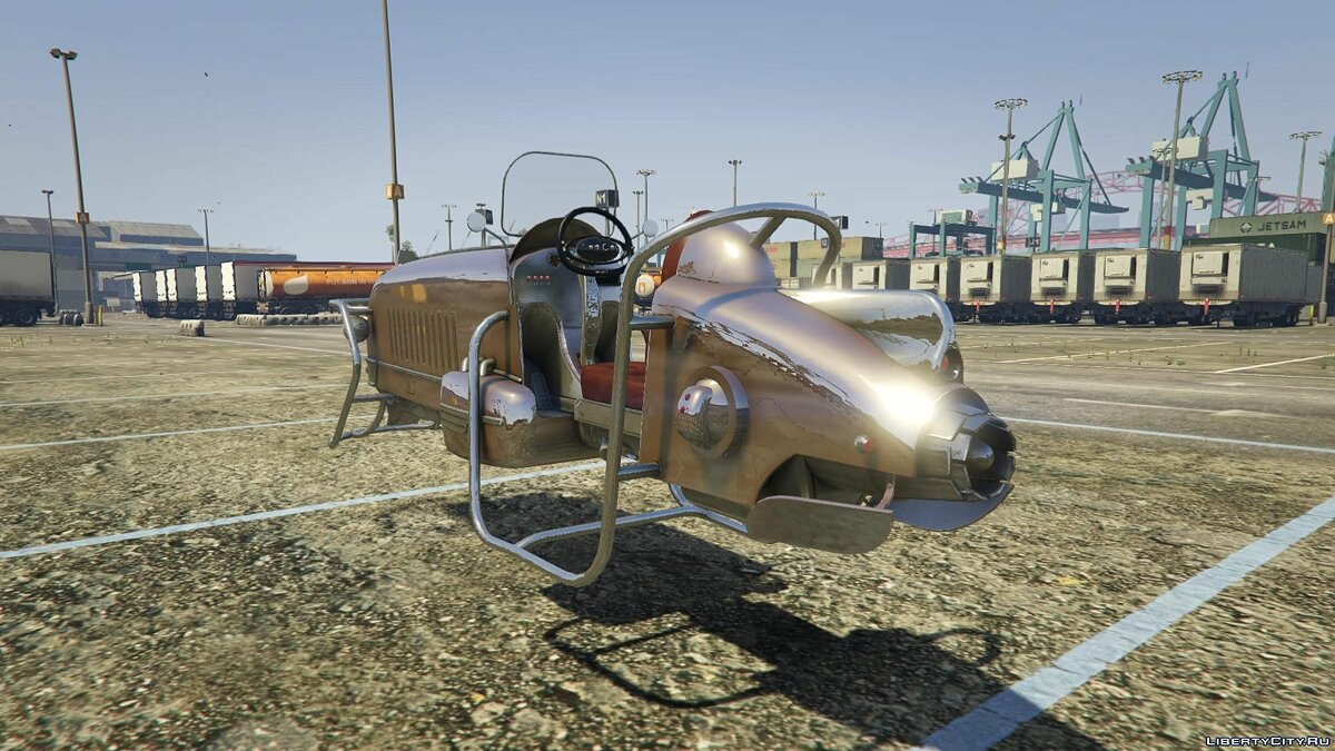 Hoverbike [Add-On] для GTA 5 - скриншот #6