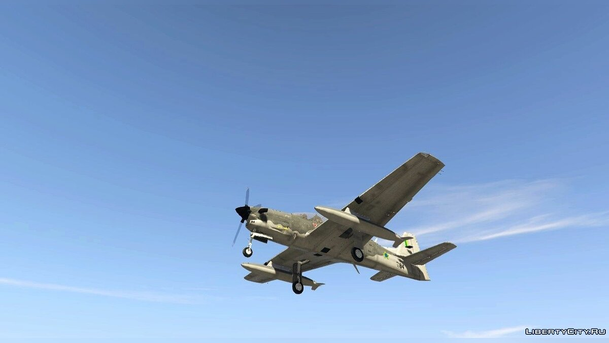 Embraer T-27 Tucano [Add-On] 1.0 для GTA 5