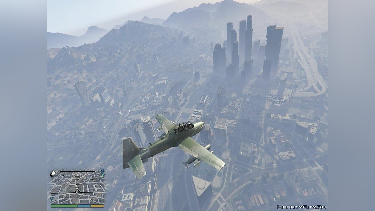 Embraer A-29B Super Tucano - Brazilian Air Force для GTA 5 - скриншот #4