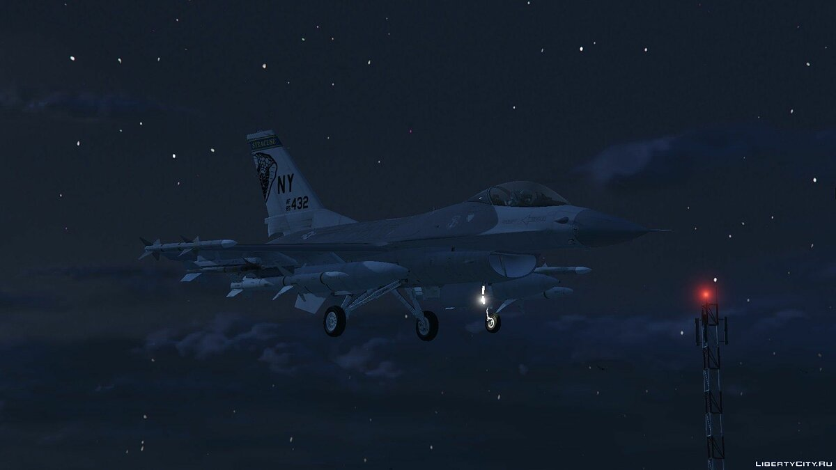 F-16C Fighting Falcon для GTA 5 - скриншот #2