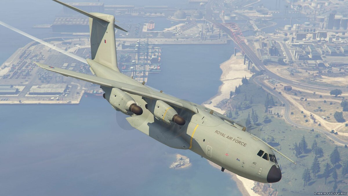 Airbus A400M (Royal Air Force) [Add-On] 1.0 для GTA 5