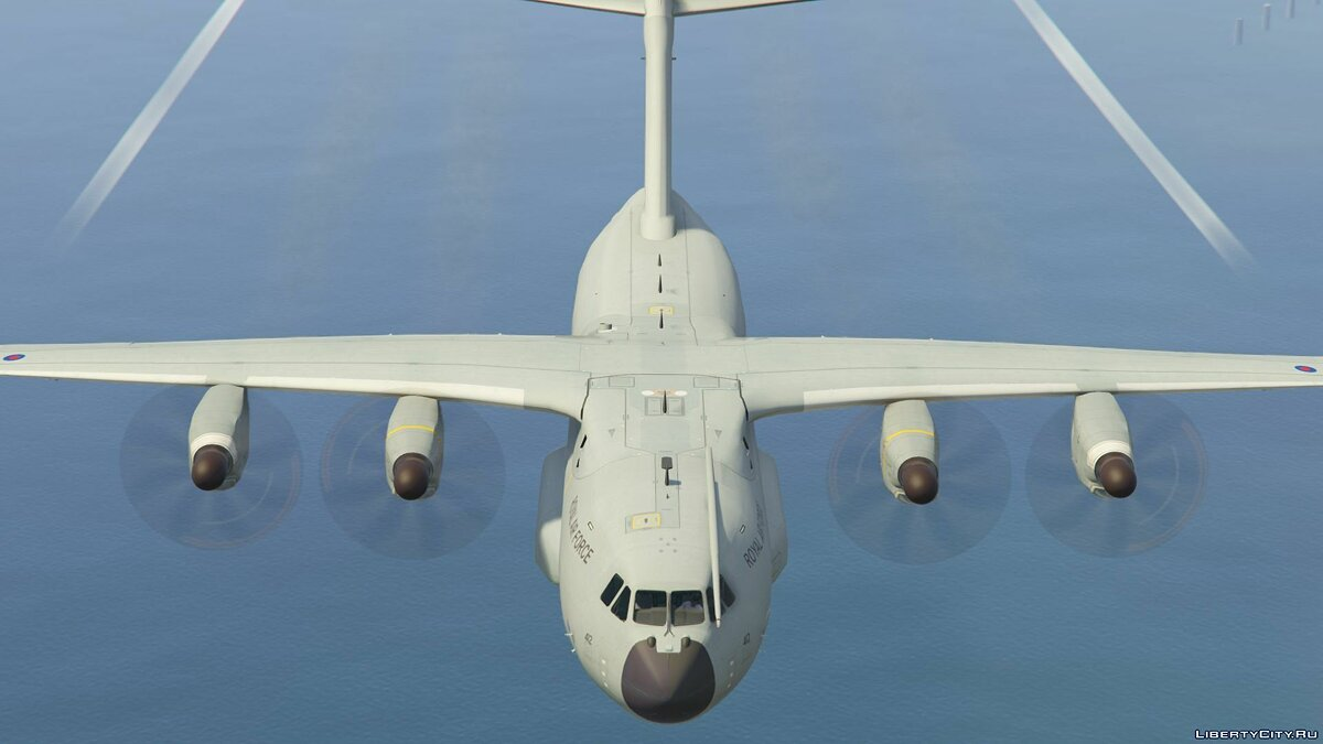 Airbus A400M (Royal Air Force) [Add-On] 1.0 для GTA 5 - скриншот #2