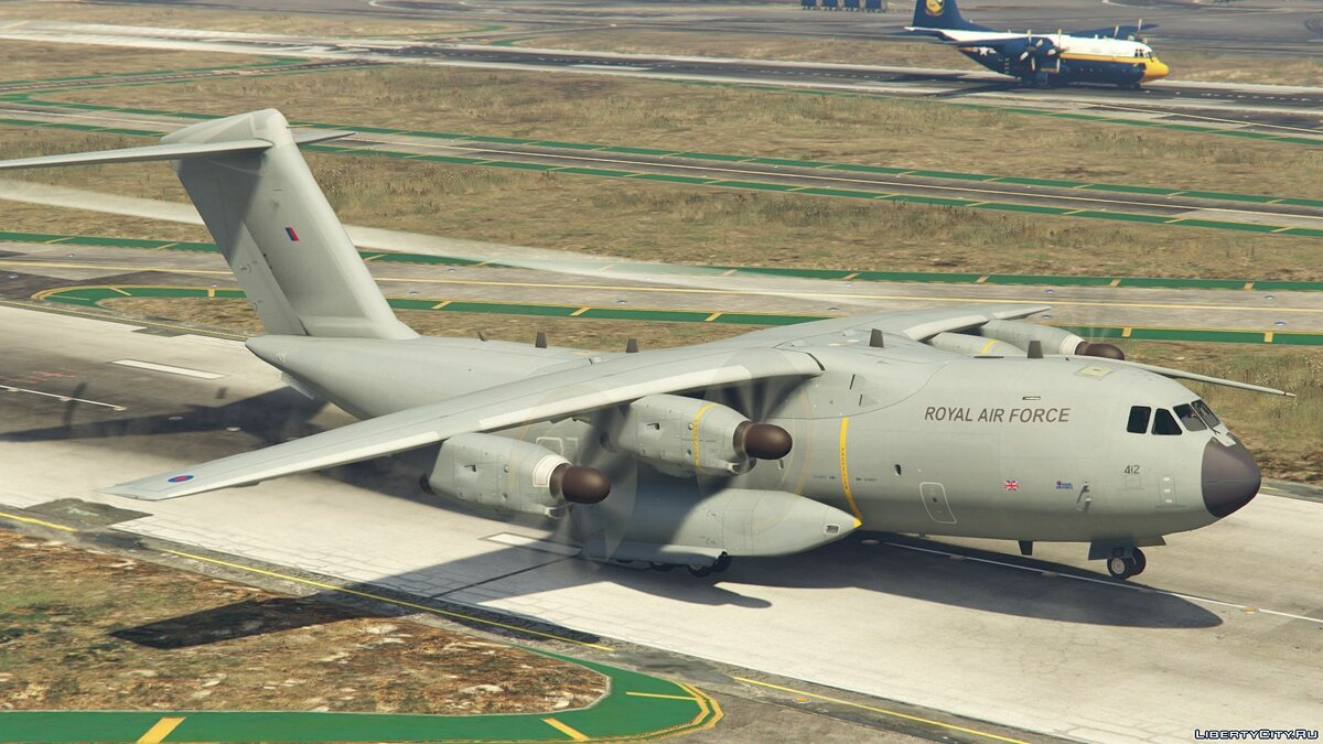 Airbus A400M (Royal Air Force) [Add-On] 1.0 для GTA 5 - скриншот #3