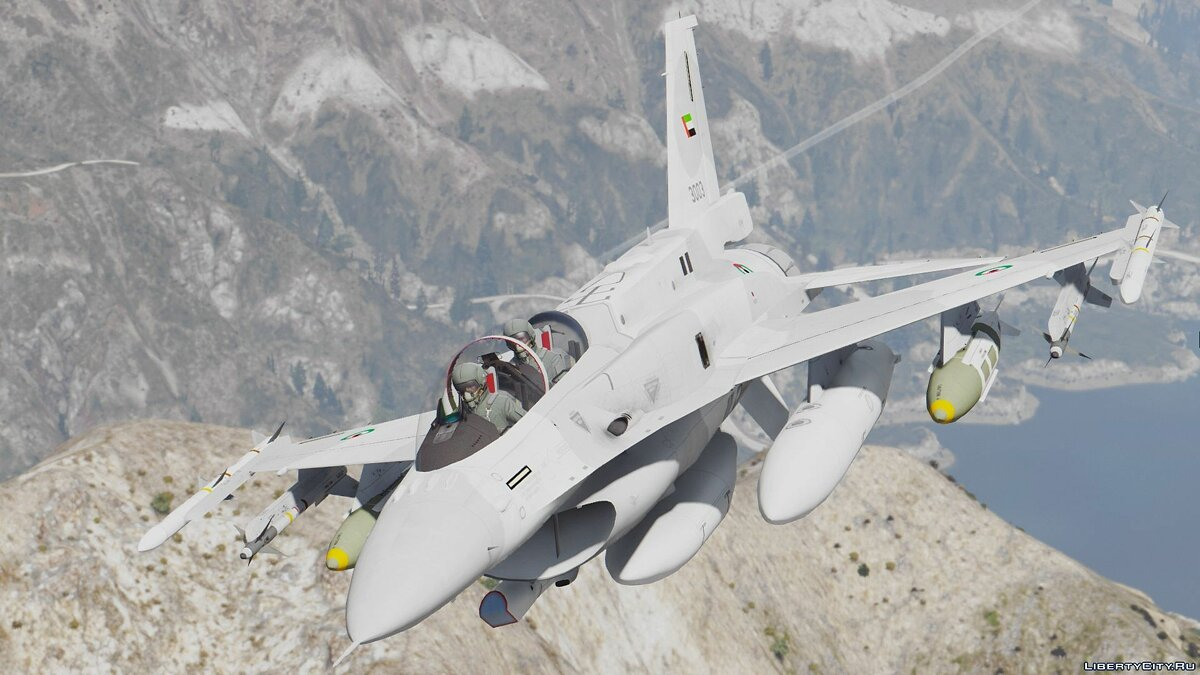 F-16D/F-16F International Pack (UAE, USAF, Poland, Pakistan, Turkey) [Add-On] для GTA 5