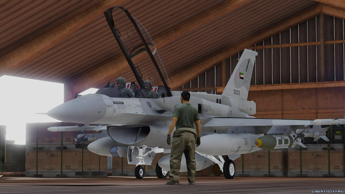 F-16D/F-16F International Pack (UAE, USAF, Poland, Pakistan, Turkey) [Add-On] для GTA 5 - скриншот #7