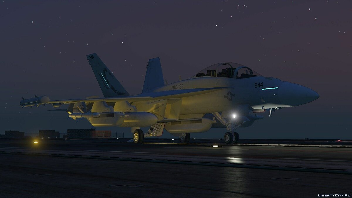 EA-18G Growler Electronic Warfare Jet (Add-On) для GTA 5 - скриншот #3