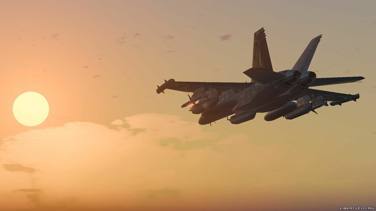 EA-18G Growler Electronic Warfare Jet (Add-On) для GTA 5 - скриншот #6