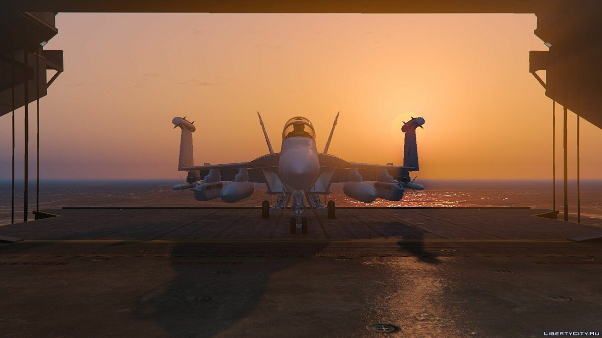EA-18G Growler Electronic Warfare Jet (Add-On) для GTA 5 - скриншот #2