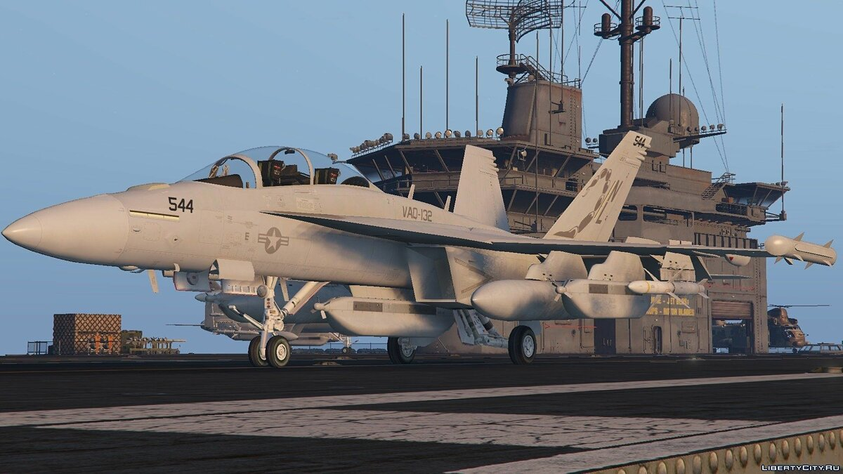 EA-18G Growler Electronic Warfare Jet (Add-On) для GTA 5