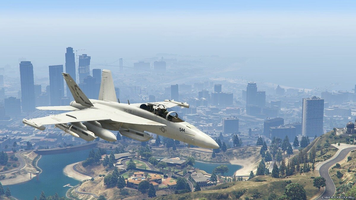 EA-18G Growler Electronic Warfare Jet (Add-On) для GTA 5 - скриншот #7