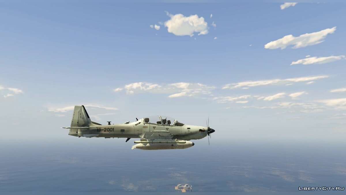 Embraer A-29B Super Tucano US Factory [Livery] 1.1 для GTA 5