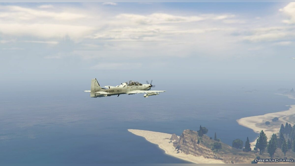 Embraer A-29B Super Tucano US Factory [Livery] 1.1 для GTA 5 - скриншот #2