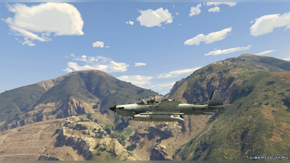 Embraer A-29B Super Tucano US Factory [Livery] 1.1 для GTA 5 - скриншот #4
