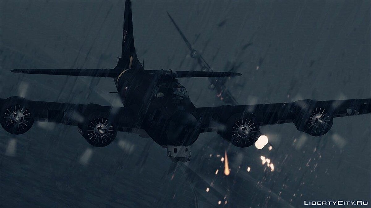 Boeing B-17G Flying Fortress [Add-On] для GTA 5