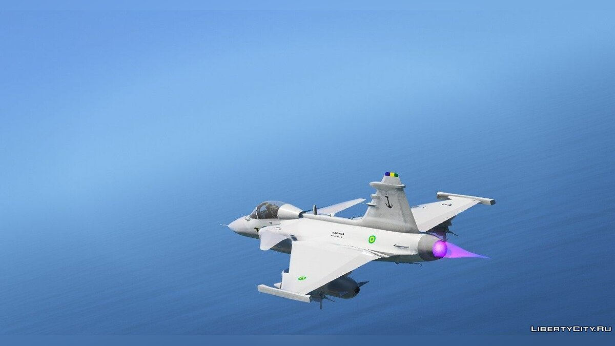 ��амолет и вертолет Gripen NG MB [Replace] для GTA 5