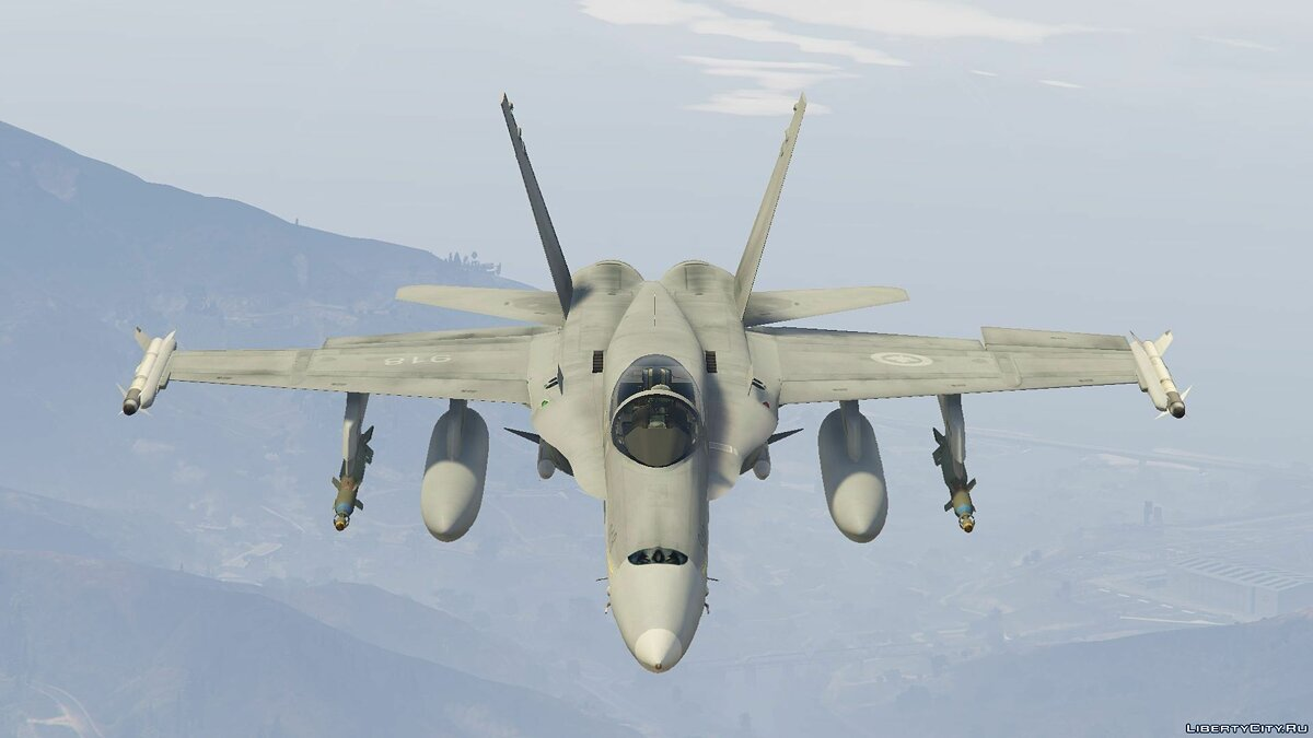 CF-18A Hornet Royal Canadian Air Force [Add-On/Replace] для GTA 5
