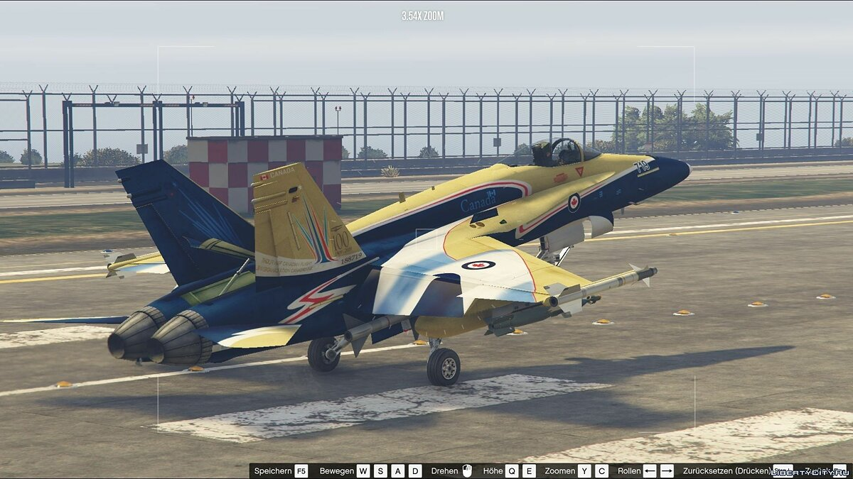 CF-18A Hornet Royal Canadian Air Force [Add-On/Replace] для GTA 5 - скриншот #7
