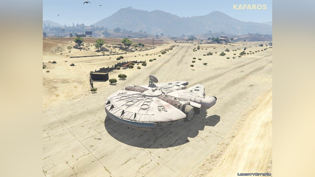 Star Wars Millenium Falcon для GTA 5 - скриншот #2